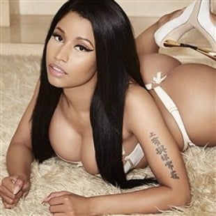 Nicki Minaj Posts New Thong Booty Pic