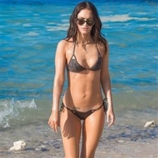 Megan Fox Shows Nips And Lips In These Wet Bikini Pics