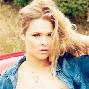 Ronda Rousey Poses Nude For Playboy