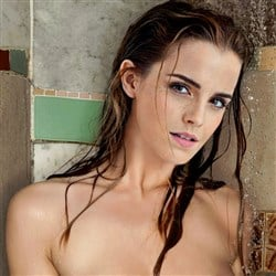 Emma Watson Caught Naked In An Outdoor Shower