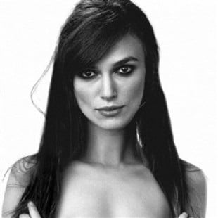 Keira Knightley Poses Completely Nude In B&W Photo
