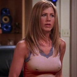 Congratulate, jennifer aniston friends hard nipples