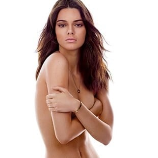 Kendall Jenner Covered Topless Photos In GQ