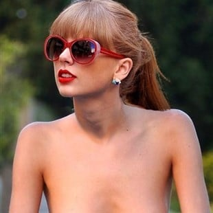 Taylor Swift Goes For A Nude Bike Ride