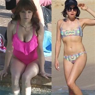 Anna Kendrick & Aubrey Plaza: Ugly Girl Swimsuit Battle