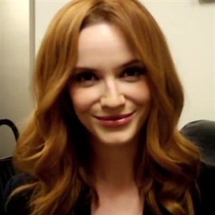 Christina Hendricks Gets Her Breasts Groped On Camera