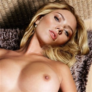 Scarlett Johansson Furry Nude With Legs Spread
