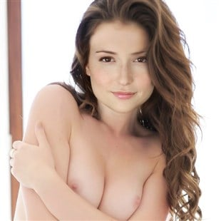 Naked milana vayntrub boobs