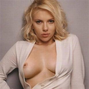 Scarlett Johansson Boob Slip Outtake