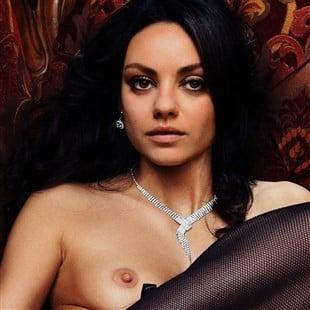 Mila Kunis Fancy Naked Photo