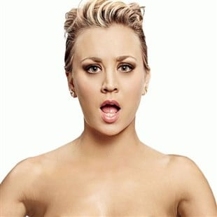 Kaley Cuoco Cuts Her Hair Short And Poses Nude