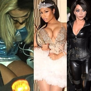 Jessica Alba, Nicki Minaj, And Sarah Hyland's Blasphemous Halloween Costumes