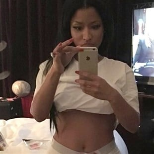 Nicki Minaj Offends With Camel Toe Selfie