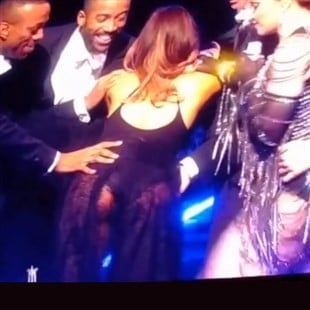 Ariana Grande Gets Bent Over And Spanked By Madonna