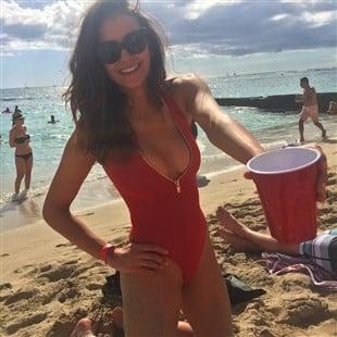 Nina Dobrev Slutty Swimsuit Vacation Photos