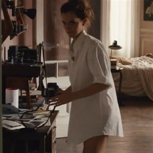"Emma Watson's Bare Legs And Butt Cheeks In New Film ""Colonia"""