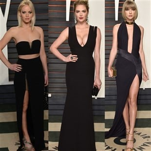 Jennifer Lawrence, Kate Upton, And Taylor Swift Win Big At The Oscars