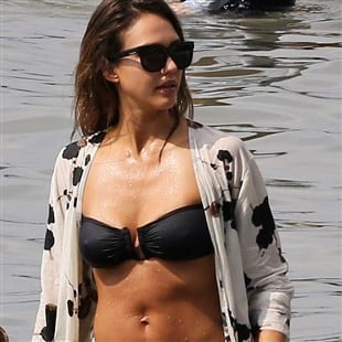 Jessica Alba Spring Break Bikini Beach Pics Day 3