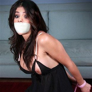 Selena Gomez Tied Up And Gagged By ISIS