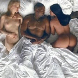 "Kanye West ""Famous"" Nude Celebrities Music Video"