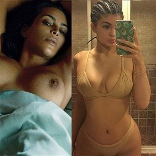 Naked jenner Kylie Jenner