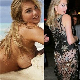 Kate Upton Nude Photo Shoot And B-Day Booty Cheeks