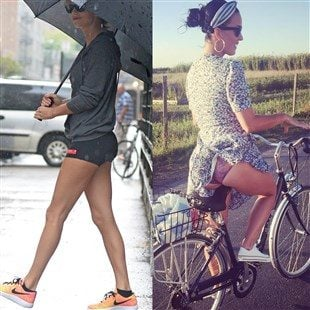 Taylor Swift In Booty Shorts vs. Katy Perry In Panties In An Ass Battle