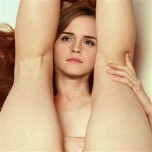 Emma Watson Shows Off Her Smooth Little Butthole