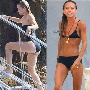 Mary-Kate And Ashley Olsen Swimsuit Battle