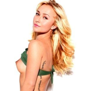 Hayden Panettiere's Breast Pops Out Of Her Bikini