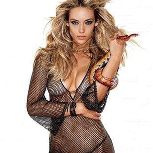 Hannah Ferguson Covered Nude In Maxim