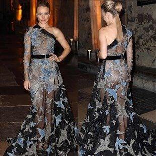 "Rachel McAdams' Ass In A Sheer Dress For ""Doctor Strange"" Premiere"
