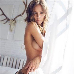 Rachel Cook Topless Lingerie Photo Shoot