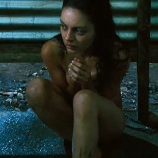 mila kunis naked with cum on her