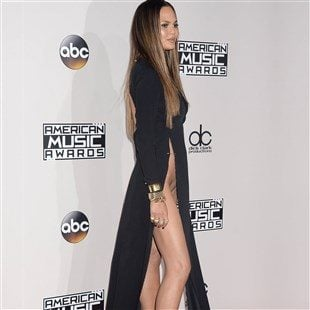 Chrissy Teigen Upskirt Pussy Flash At The AMAs