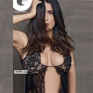 Salma Hayek Boobs And Booty For A Photo Shoot In GQ