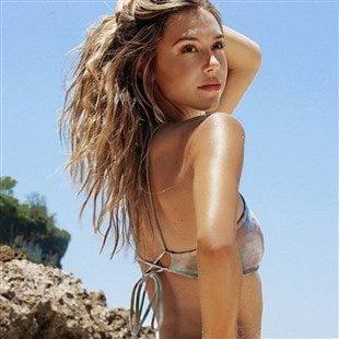 Alexis Ren Tight Ass Thong Bikini Photo Shoot