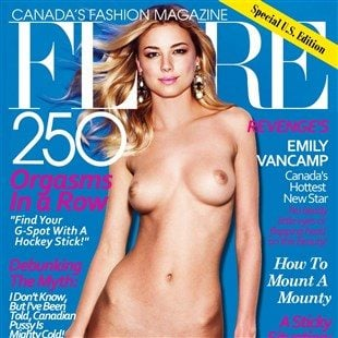Emily VanCamp Nude Photo Shoot
