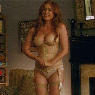 """Isla Fisher Lingerie Scene From """"Keeping Up With The Joneses"""""""