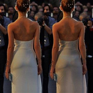 Emma Watson's Tight Little Ass In A Thong