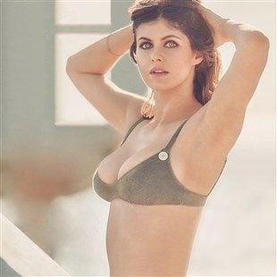 Alexandra Daddario's Cheap Boobs In Mexican GQ