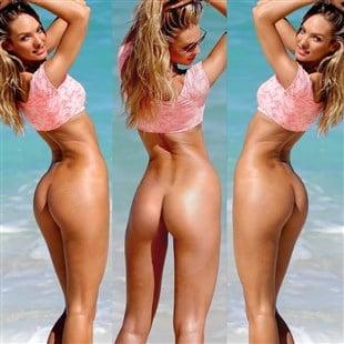 Seems candice swanepoel beach nude