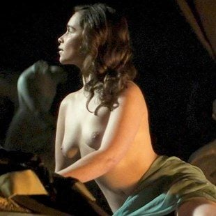 """Emilia Clarke Nude Scene From """"Voice From The Stone"""""""