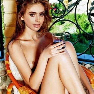 Lilly collins nude
