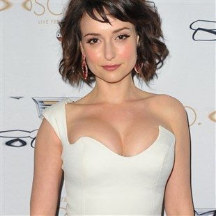 Milana Vayntrub Celebrates Becoming Marvel's Newest Superhero With A Topless Video