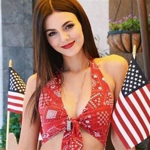 Victoria Justice Disgraces The USA With Her Bikini Body