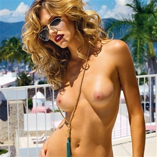 Of nude tricia helfer pictures