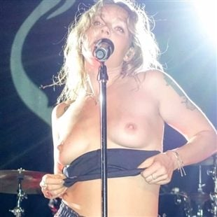 Tove Lo Performing Completely Topless