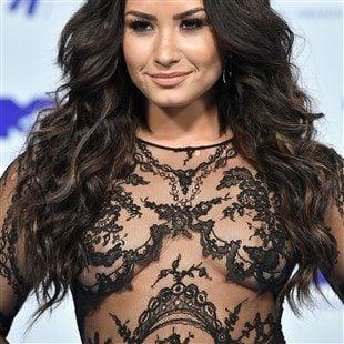 Demi Lovato Nip Slips At The MTV VMAs