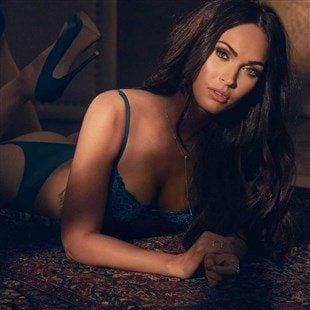 Megan Fox Stays Relevant In Lingerie